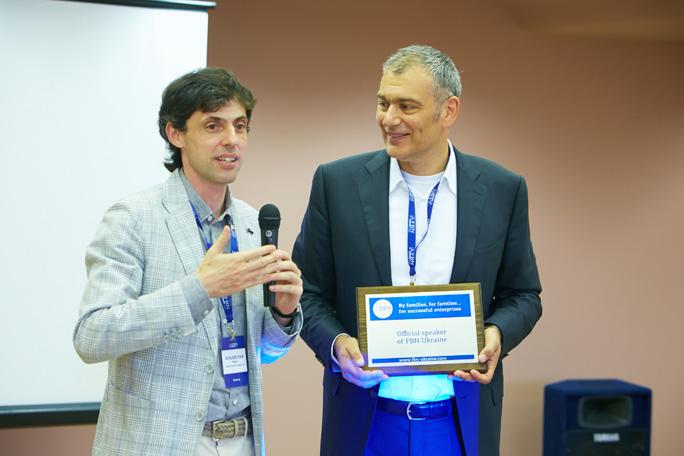 Эмиль Тедески стал первым обладателем почетного знака спикера FBN Ukraine на ивенте в Одессе