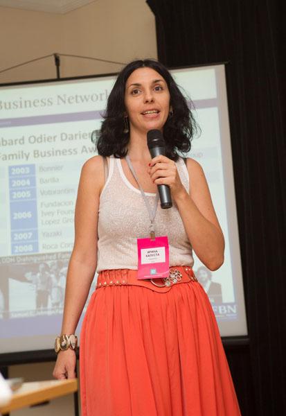 Ирина Капуста, управляющий партнер Ideas First, организационный директор FBN Ukraine