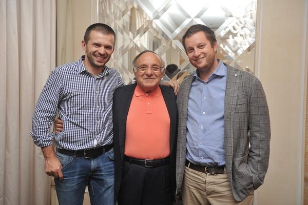 Ицхак Адизес с владельцами компаний - участниками FBN Ukraine