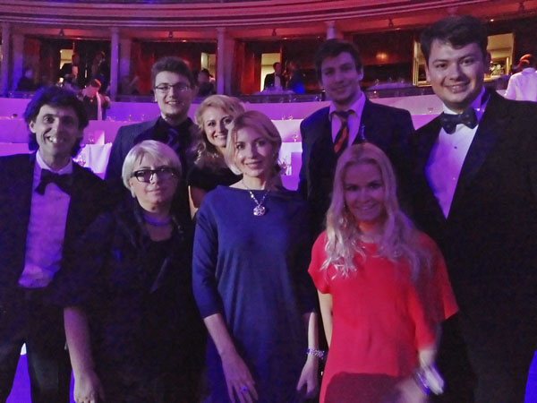Участники FBN Ukraine на международном саммите FBN в Лондоне, Royal Albert Hall