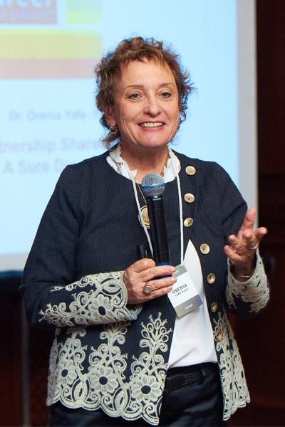Орения Яффе-Янаи на восьмом ивенте FBN Ukraine, Киев, ноябрь 2011