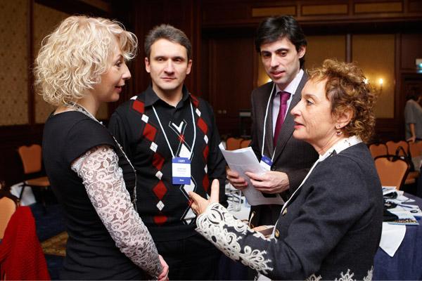 Наталья Лимонова, Сергей Верминский, Владислав Бурда и Орения Яффе-Янаи