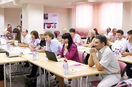 Участники FBN Ukraine в конференц-зале концерна «Европродукт»