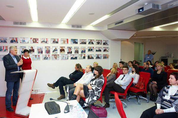 Презентация семейной компании «Лiга» для участников FBN Ukraine, Киев, ноябрь 2011