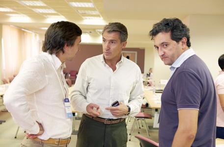 Владимир Зубарь, Роберт Гулиев и Эдуард Бальжик - участники форума FBN Ukraine
