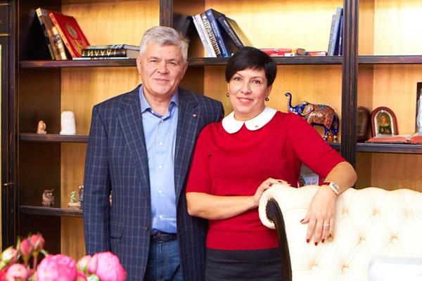 Сергей и Марина Бондаренко, владельцы семейной компании «Лiга»