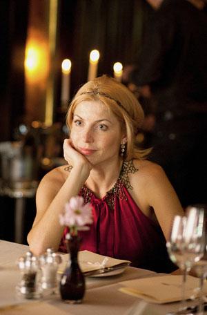 Жанна Крючкова, совладелица принимающей семейной компании «Алмаз-Групп» (Днепропетровск), в ресторане «Coast»