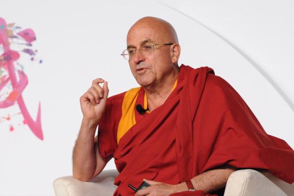 Матье Рикар (Matthieu Ricard), буддийский монах и французский биохимик, выступил на международном саммите FBN в Сингапуре